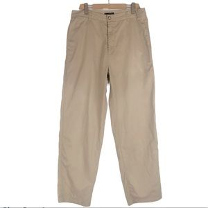 KENNETH COLE RELAXED FIT KHAKIS 33/32